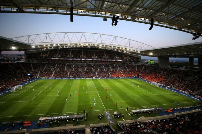 The Estadio de Dragao in Porto could be used if last 16 Champions League matches cannot be played at their original venues