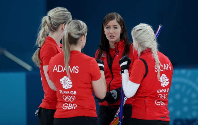 Eve Muirhead's rink claimed a