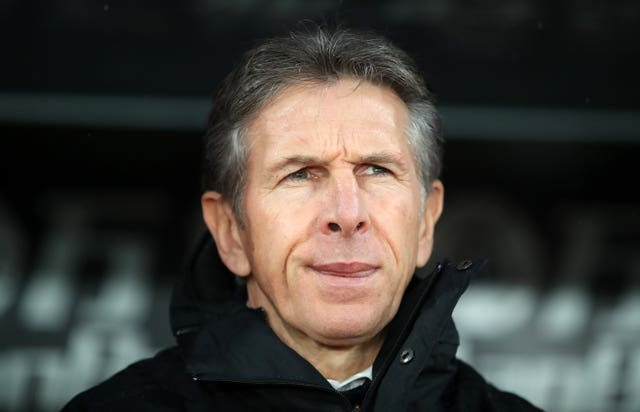 Claude Puel was sacked at the weekend