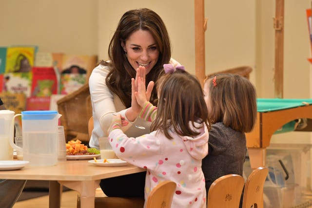 Royal visit to nursery and pre-school - Stockwell