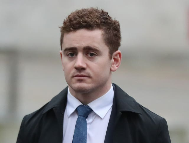 Ireland and Ulster rugby player Paddy Jackson (Niall Carson/PA)