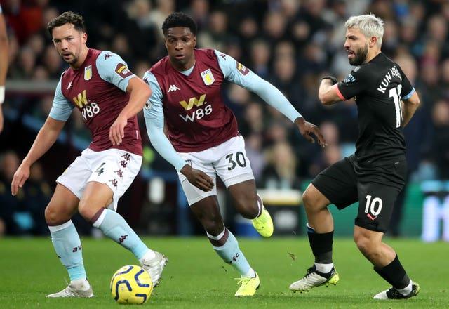 Danny Drinkwater (left) struggled on his Aston Villa debut