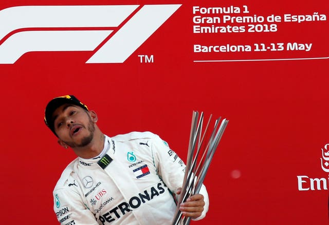 Lewis Hamilton is still in talks over a new contract