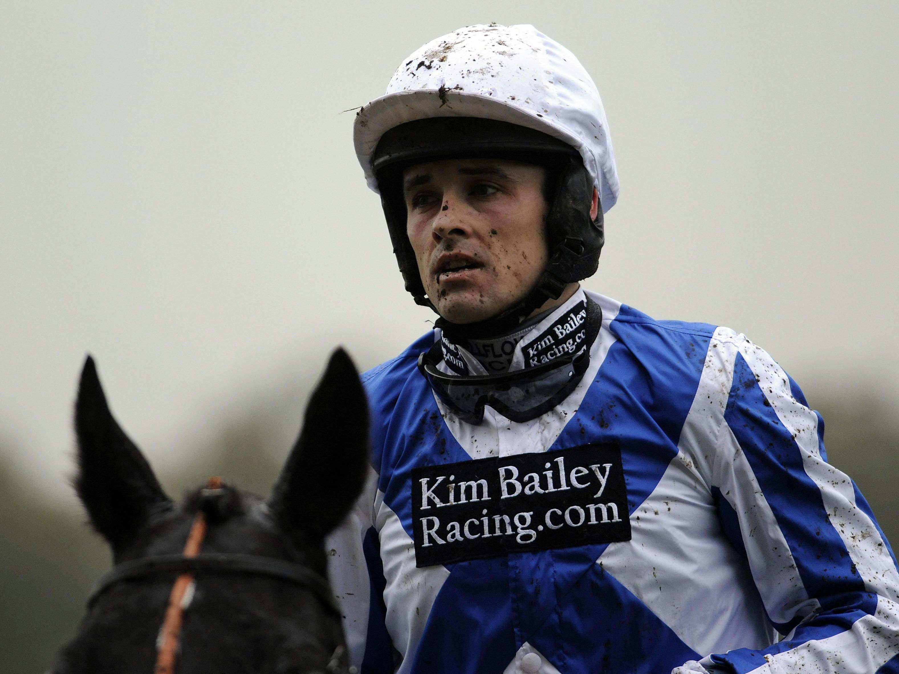 Sean Quinlan was banned for 12 days at Sedgefield (Rebecca Naden/PA)