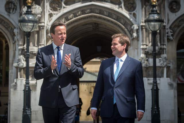 Cameron meets new MP for Newark