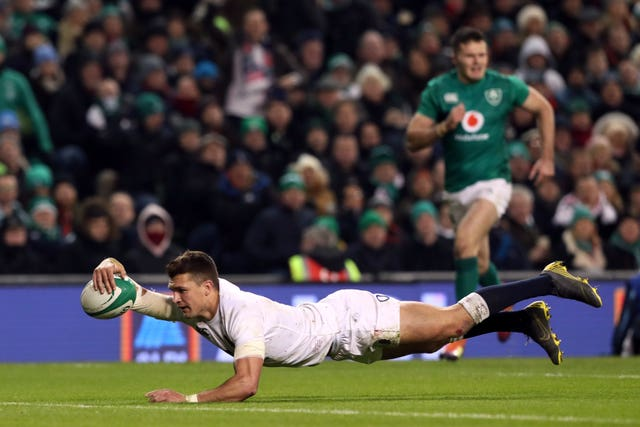 England won 32-20 against Ireland in Dublin during this year's Six Nations