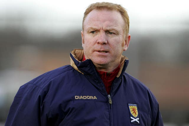 Alex McLeish is returning to the Scotland job