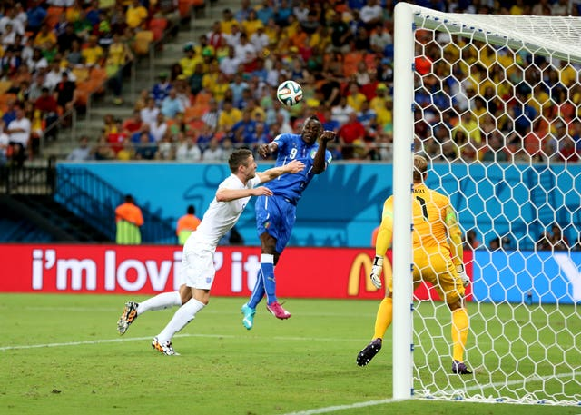 Mario Balotelli scored Italy's winner at the 2014 World Cup