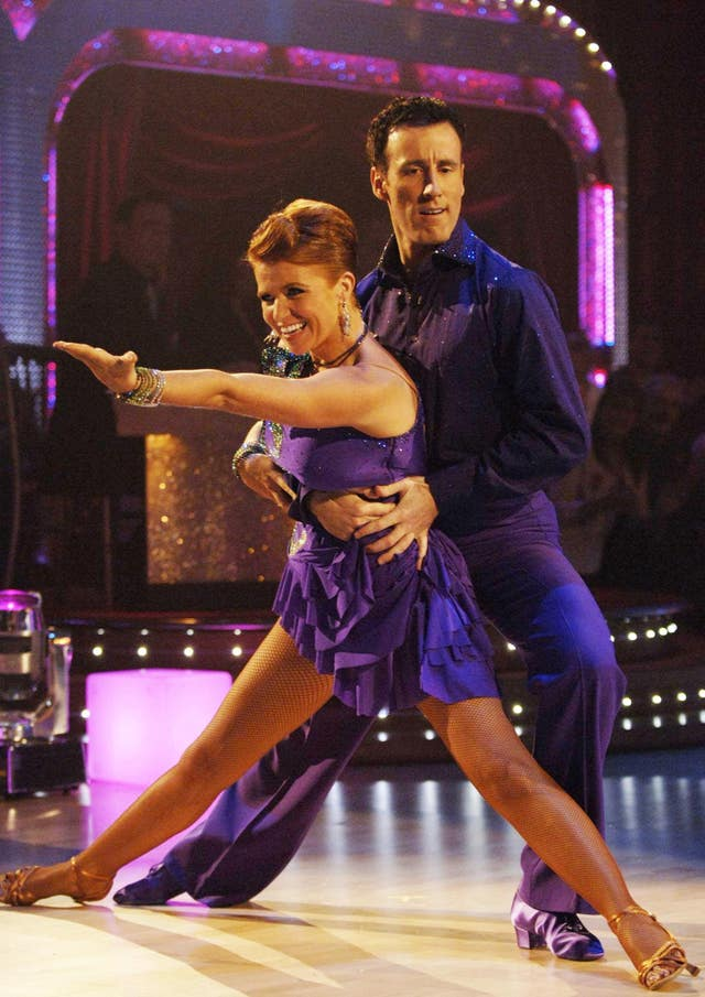 Patsy Palmer and Anton Du Beke