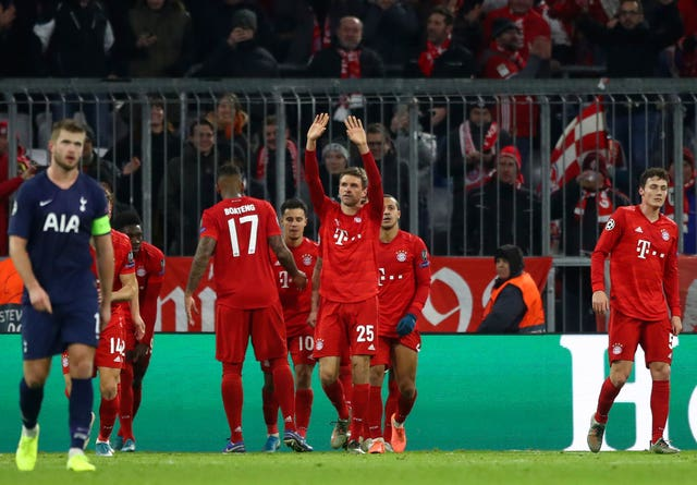 Thomas Mueller's goal put Bayern back in front