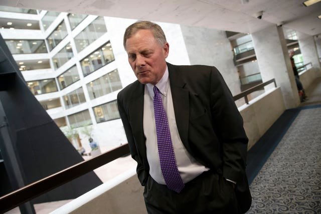 Senate Intelligence Committee chairman Richard Burr (J Scott Applewhite/AP)