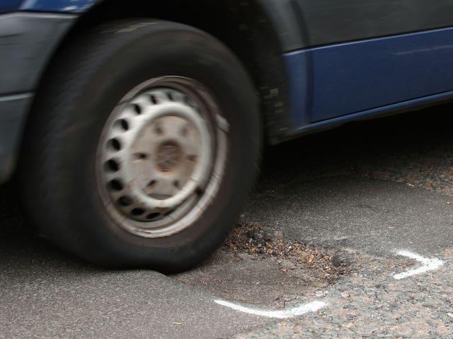 Money for pothole repair figures