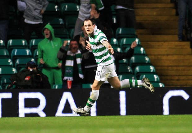 Anthony Stokes scored twice in the home leg when Celtic last faced Rennes