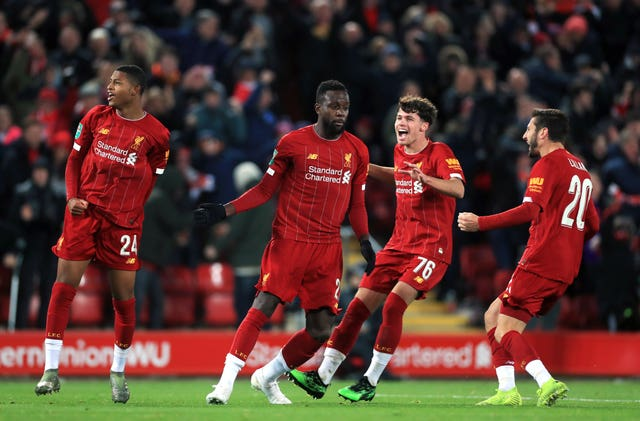 Liverpool v Arsenal – Carabao Cup – Fourth Round – Anfield