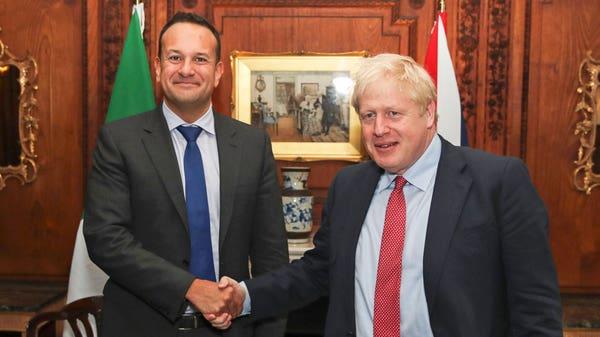 Varadkar meets Johnson at luxury wedding venue for Brexit talks