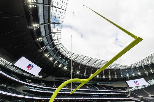 NFL Tottenahm Hotspur Stadium Preparations