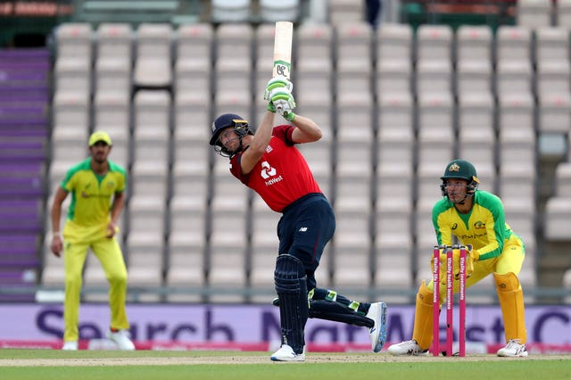 Jos Buttler struck 44 off 29 balls in his first white-ball innings for England this summer