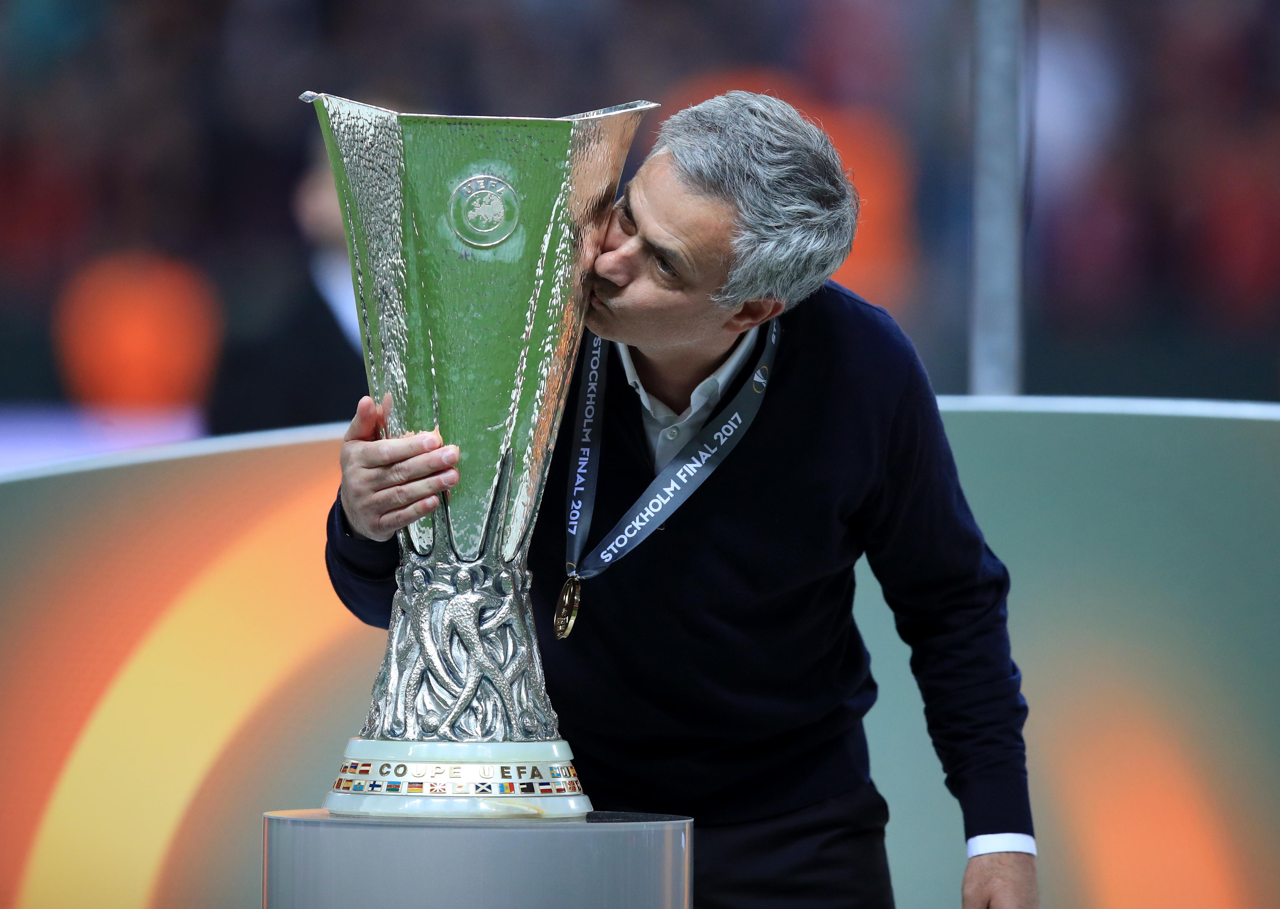 Jose Mourinho led Manchester United to Europa League glory lats season