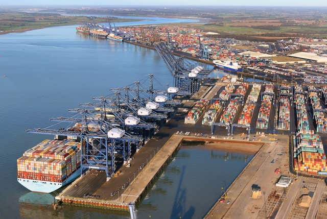 The Port of Felixstowe