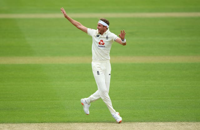 Stuart Broad could miss out on selection in the first Test against the West Indies