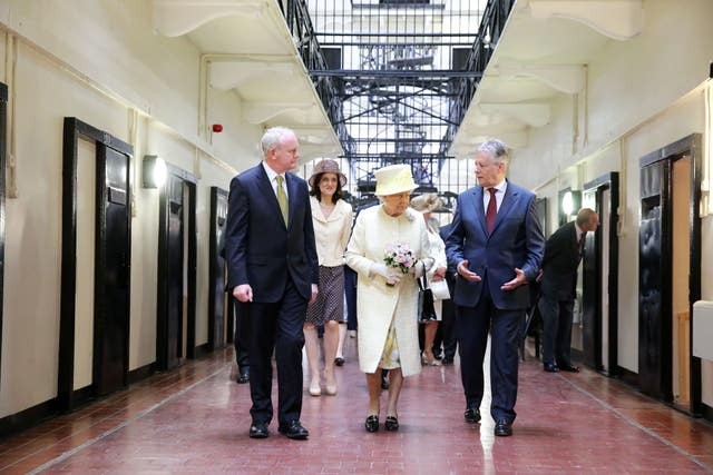 The Queen visited the Crumlin Road Gaol