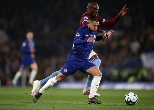 The form of Eden Hazard is key to Chelsea's top-four hopes