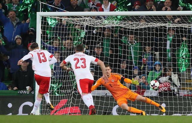 Northern Ireland v Switzerland – 2018 World Cup Qualifying – Play Off – First Leg – Windsor Park