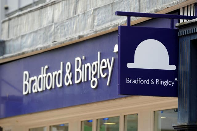 Bradford and Bingley sign