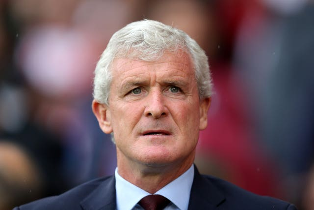 Mark Hughes' most recent job was with Southampton