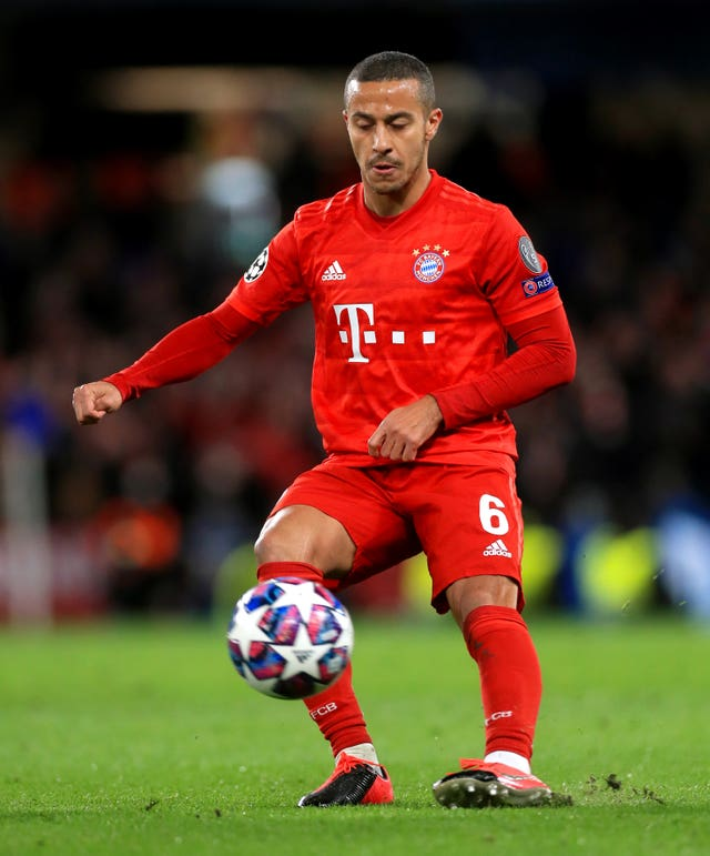 City were not interested in Thiago Alcantara