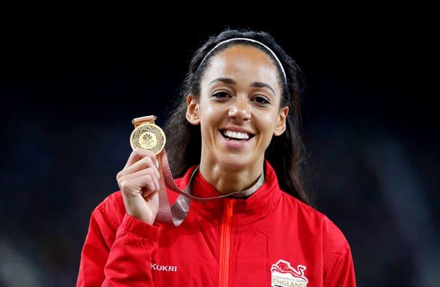 England's Katarina Johnson-Thompson won Commonwealth Gold in 2018