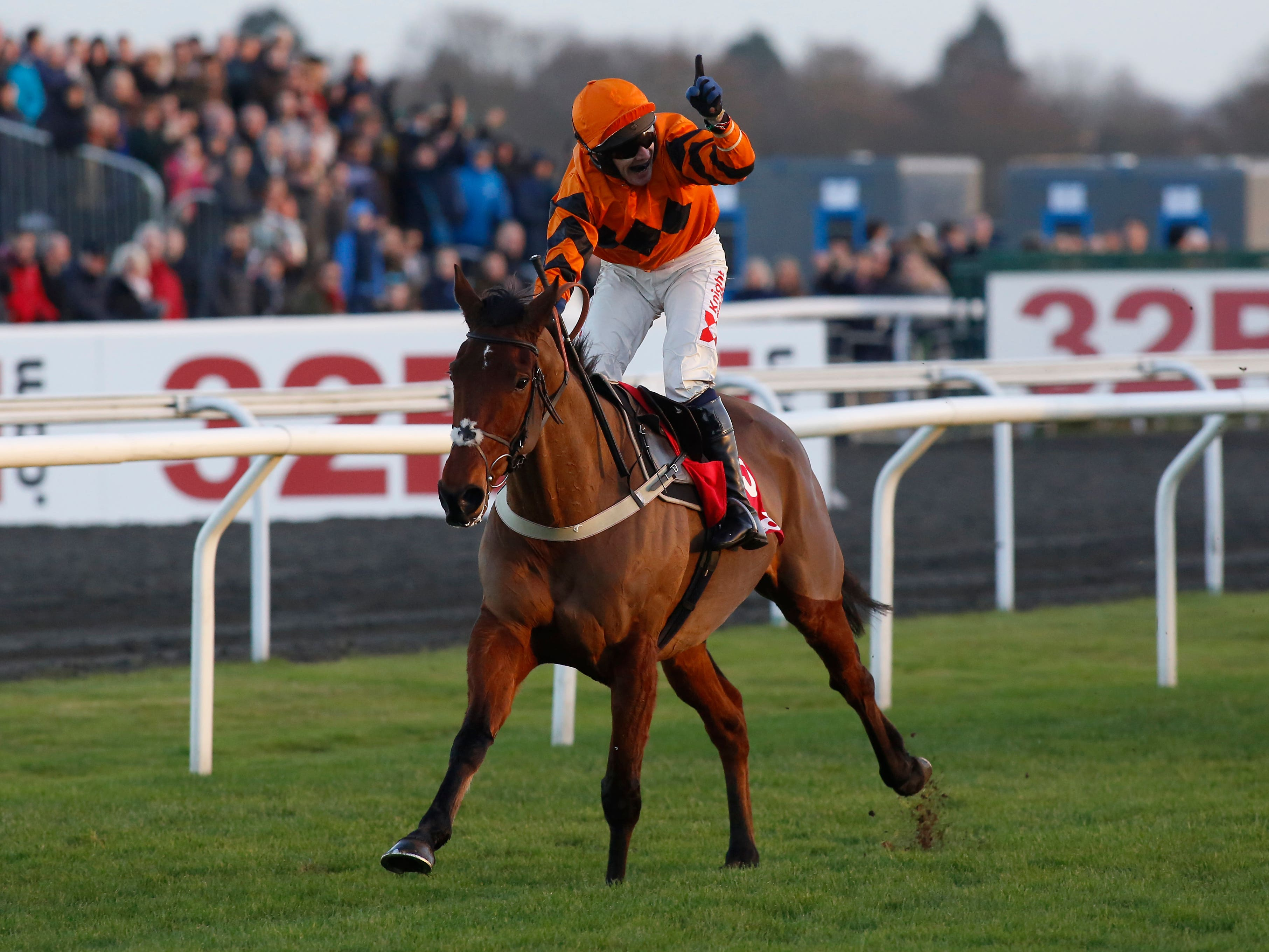 Thistlecrack after winning the King George VI Chase at Kempton (Julian Herbert/PA)