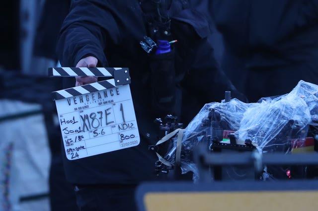 Batman filming – Glasgow