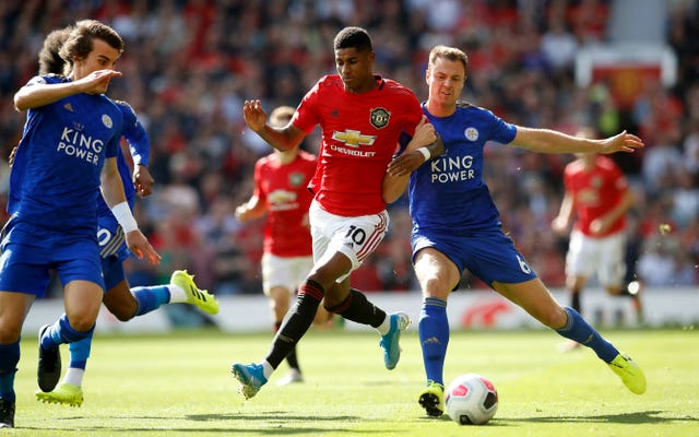 Manchester United and Leicester square off on the final day