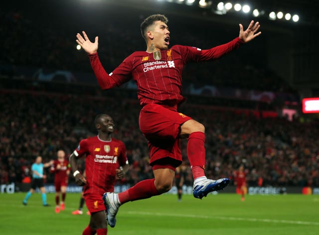 Firmino gave Liverpool reason to believe with his goal to put the Reds ahead