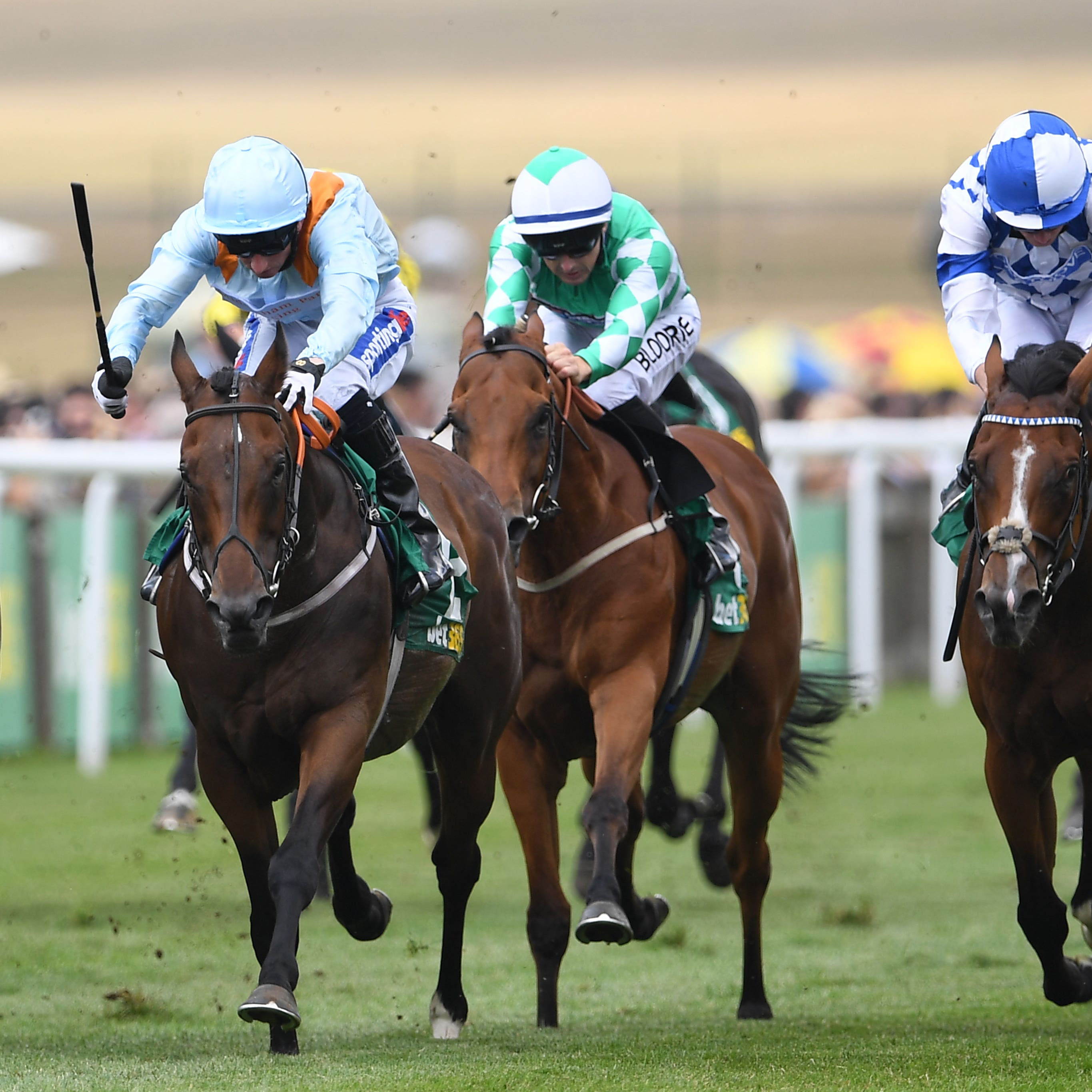 Burnt Sugar (left) lands the Bunbury Cup at Newmarket next week