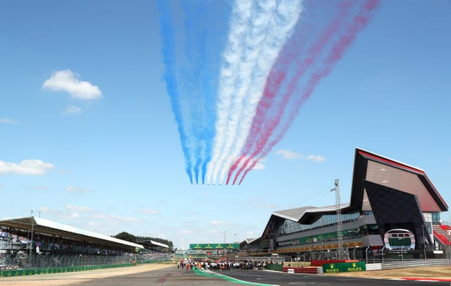 This year's British Grand Prix is due to be staged on July 18