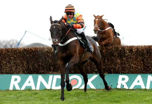 Might Bite rounded off last season with victory at Aintree