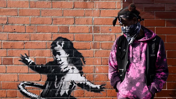 Banksy confirms new Nottingham mural is his work
