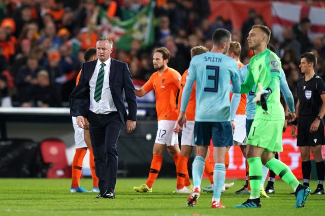 Michael O'Neill's side may have to battle through the play-offs