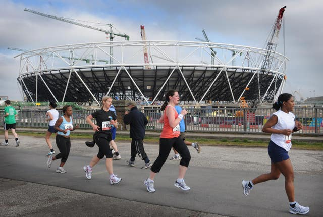 An event was due to take place at the Olympic Park