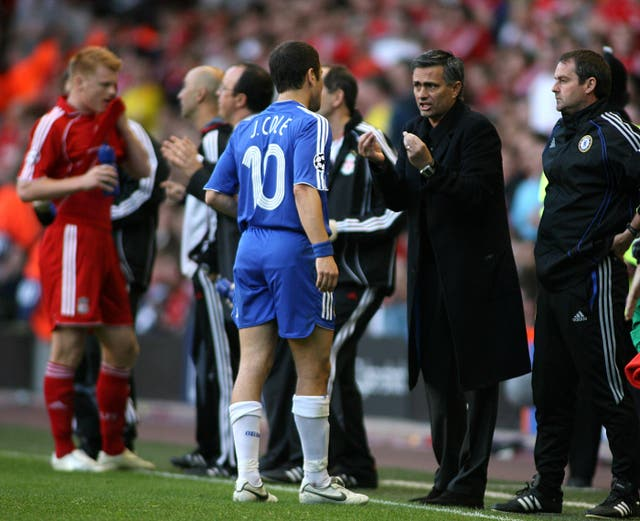 Joe Cole was on the receiving end of some public dressing downs from Mourinho