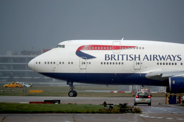 The double decker is known affectionately as the Queen of the Skies (Steve Parsons/PA)