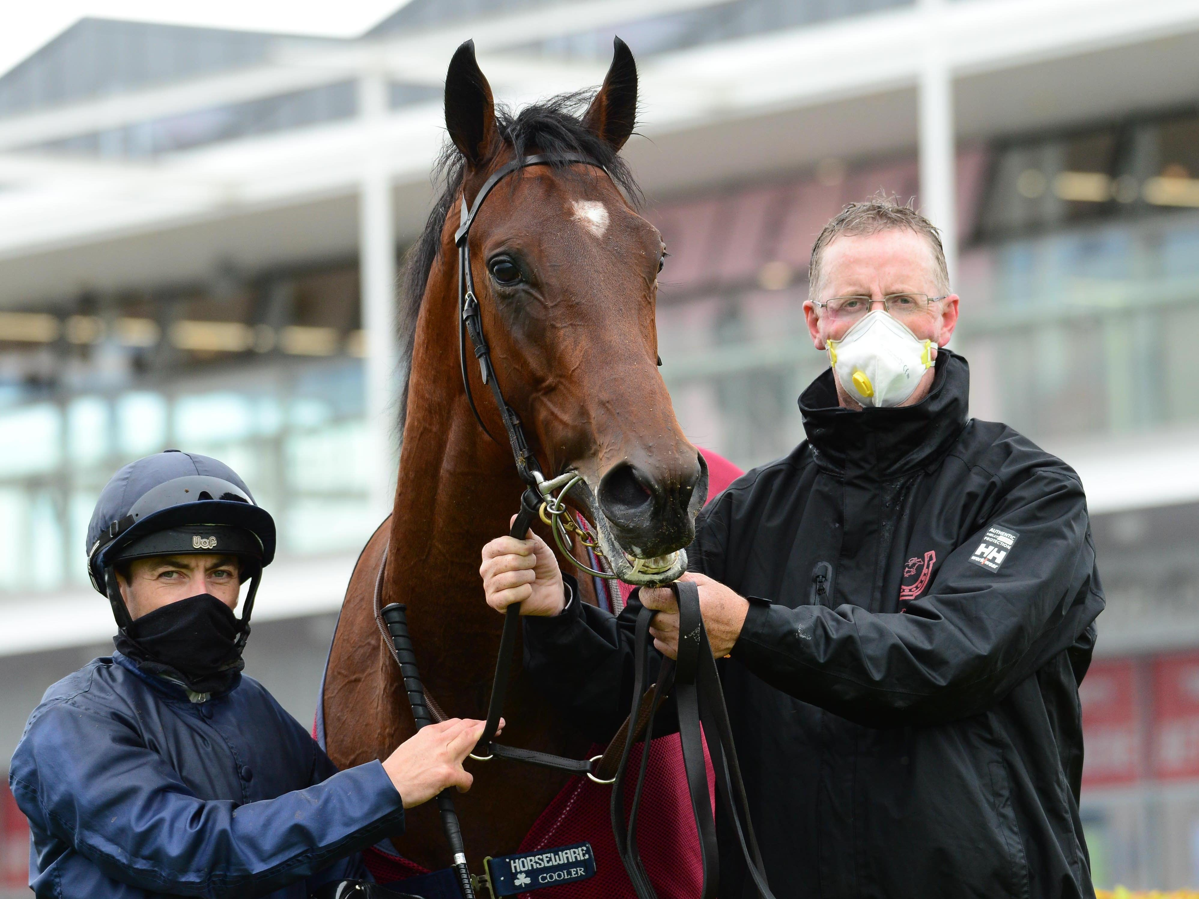 Ontario after winning at last year's Galway Festival (PA)