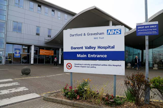 Darent Valley Hospital in Kent