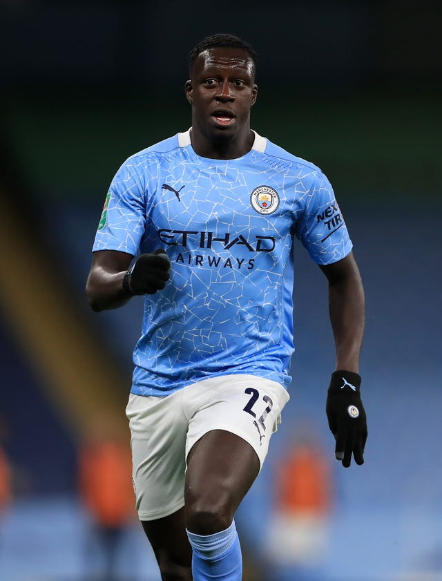 Benjamin Mendy is back in the City picture after injury