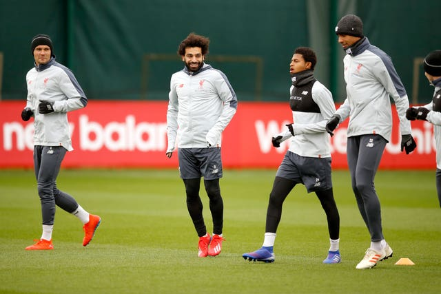 Liverpool are preparing for their crunch clash at the Allianz Arena