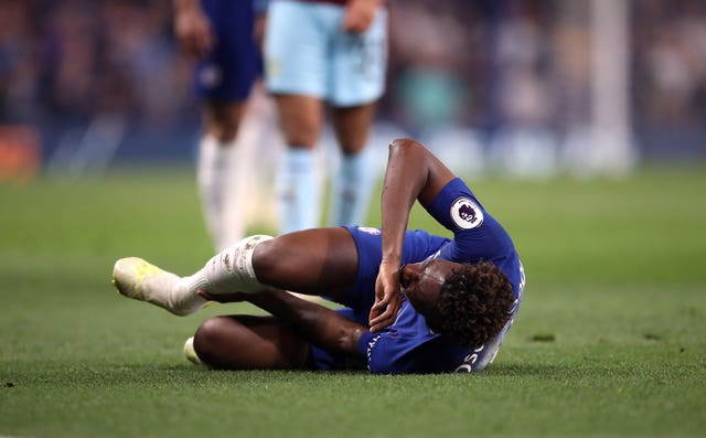 Hudson-Odoi is still recovering from a torn Achilles in April