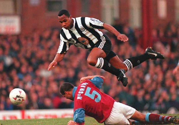 Villa v Newcastle 1995