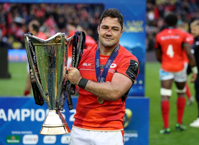 Barritt has won five Premiership and three European titles during his Saracens career (Mike Egerton/PA).